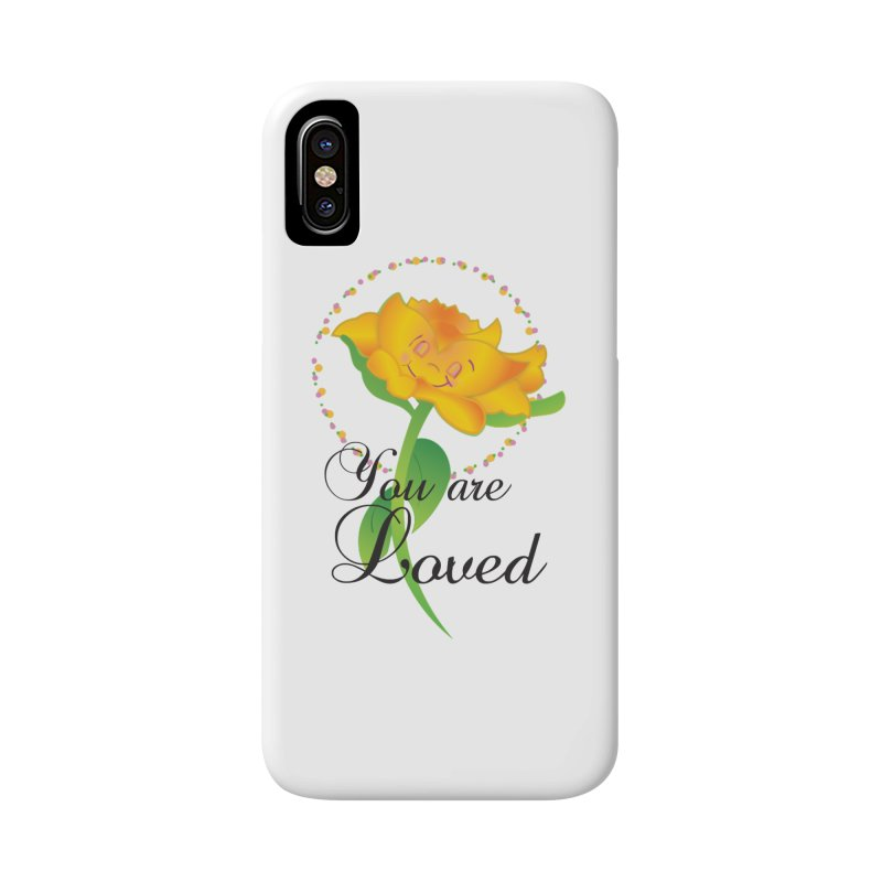 You are Loved Accessories Phone Case by MyInspirationalGifts Artist Shop