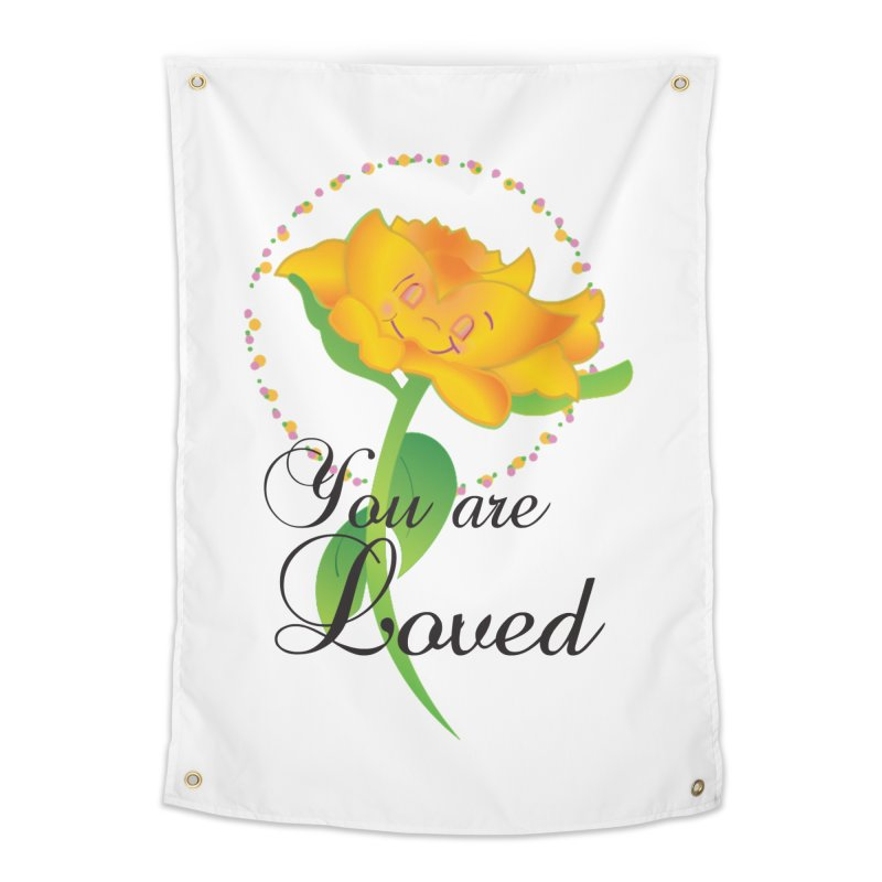 You are Loved Home Tapestry by MyInspirationalGifts Artist Shop