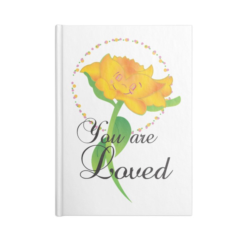 You are Loved Accessories Lined Journal Notebook by MyInspirationalGifts Artist Shop