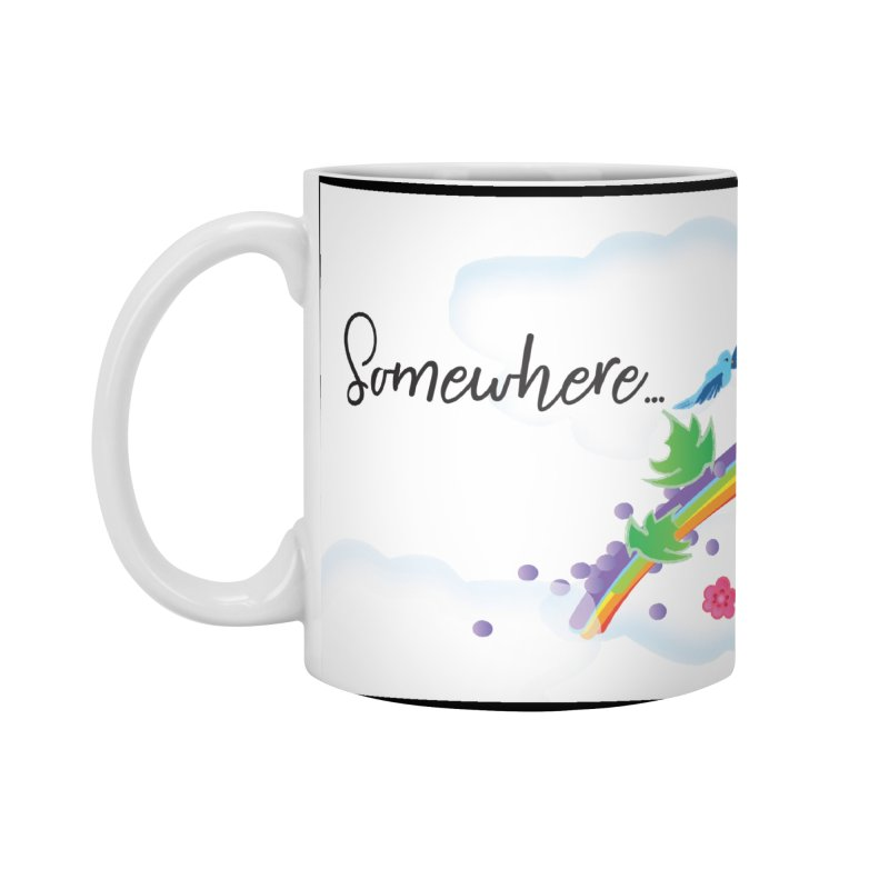 Over the Rainbow Accessories Standard Mug by MyInspirationalGifts Artist Shop