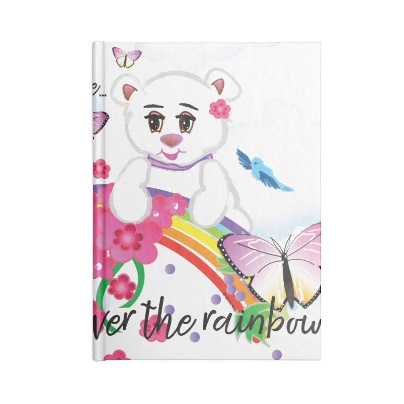 Over the Rainbow Accessories Lined Journal Notebook by MyInspirationalGifts Artist Shop
