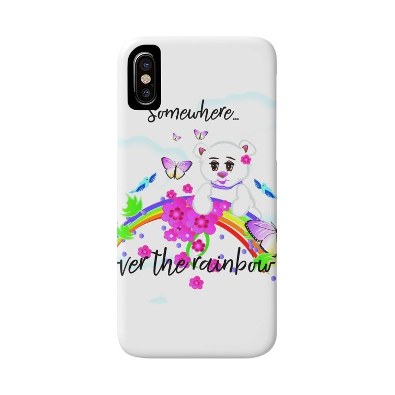 Over the Rainbow Accessories Phone Case by MyInspirationalGifts Artist Shop