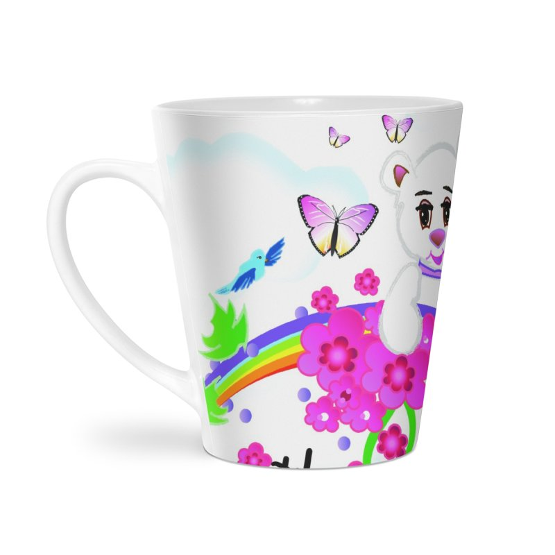Over the Rainbow Accessories Latte Mug by MyInspirationalGifts Artist Shop