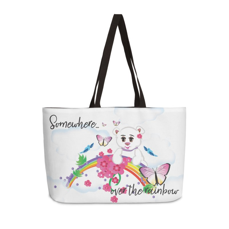 Over the Rainbow Accessories Weekender Bag Bag by MyInspirationalGifts Artist Shop