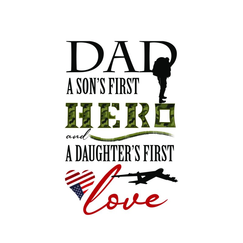 Hero Dad by MyInspirationalGifts Artist Shop