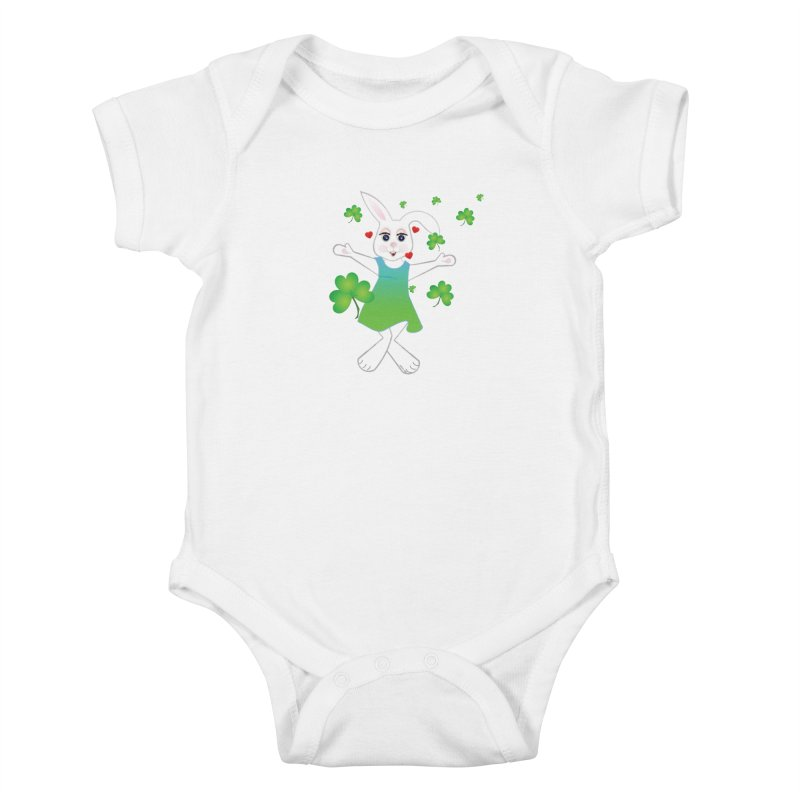 Irish You love Kids Baby Bodysuit by MyInspirationalGifts Artist Shop