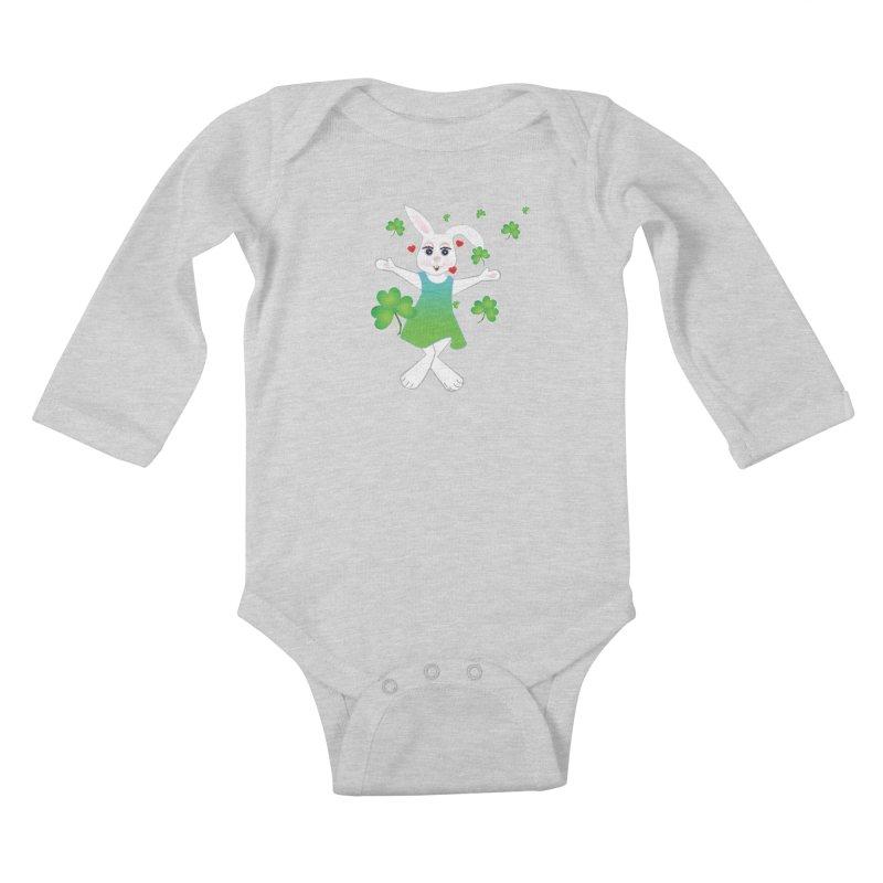 Irish You love Kids Baby Longsleeve Bodysuit by MyInspirationalGifts Artist Shop