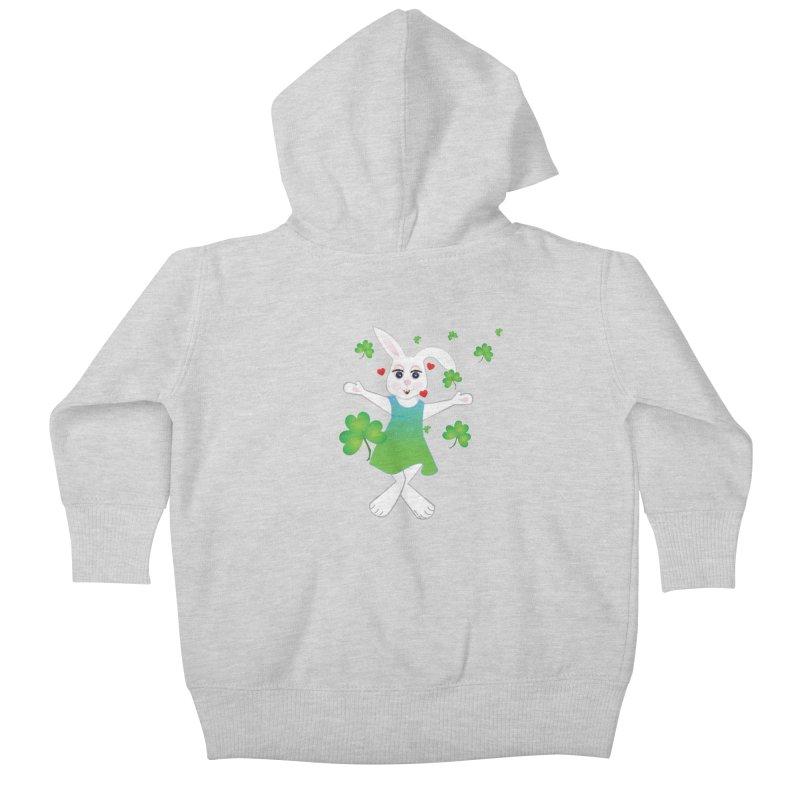 Irish You love Kids Baby Zip-Up Hoody by MyInspirationalGifts Artist Shop