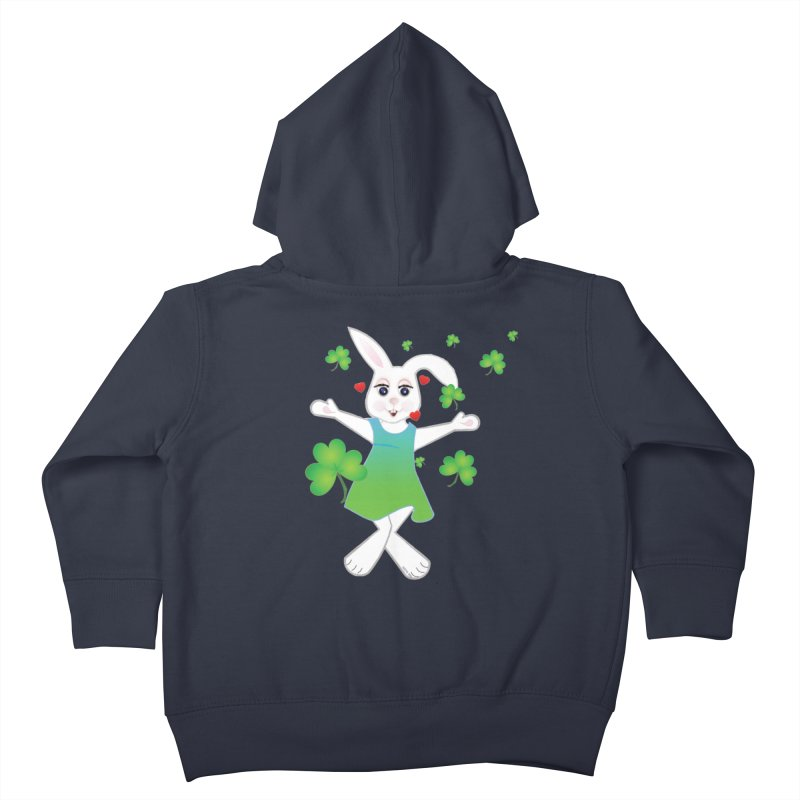 Irish You love Kids Toddler Zip-Up Hoody by MyInspirationalGifts Artist Shop
