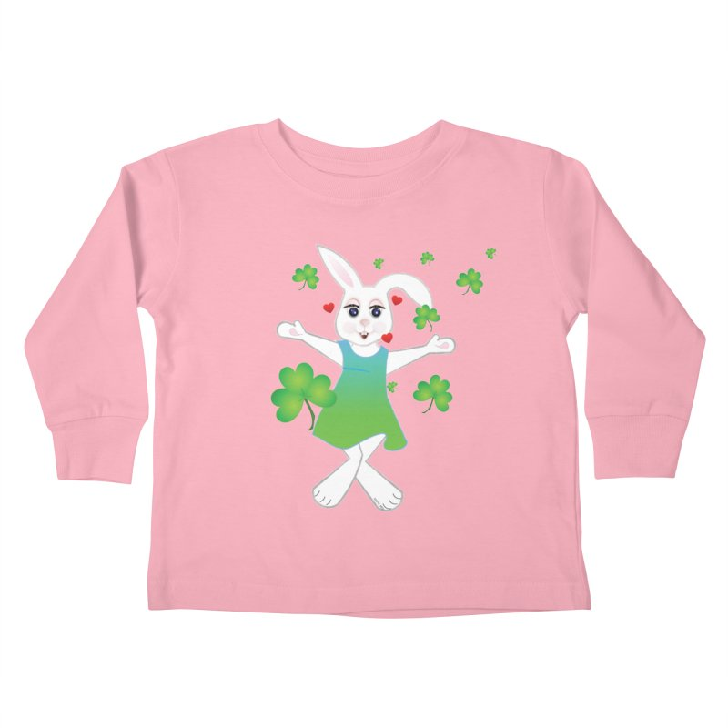 Irish You love Kids Toddler Longsleeve T-Shirt by MyInspirationalGifts Artist Shop
