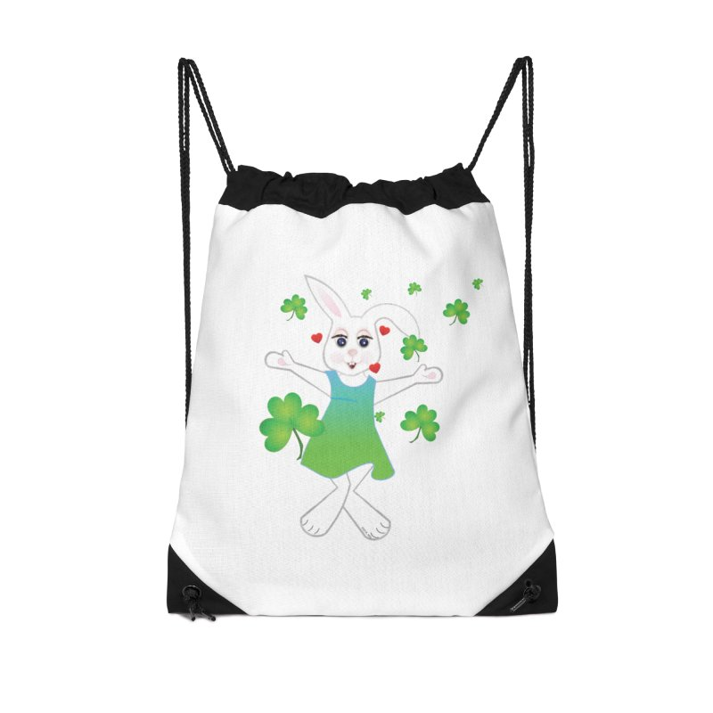 Irish You love Accessories Drawstring Bag Bag by MyInspirationalGifts Artist Shop