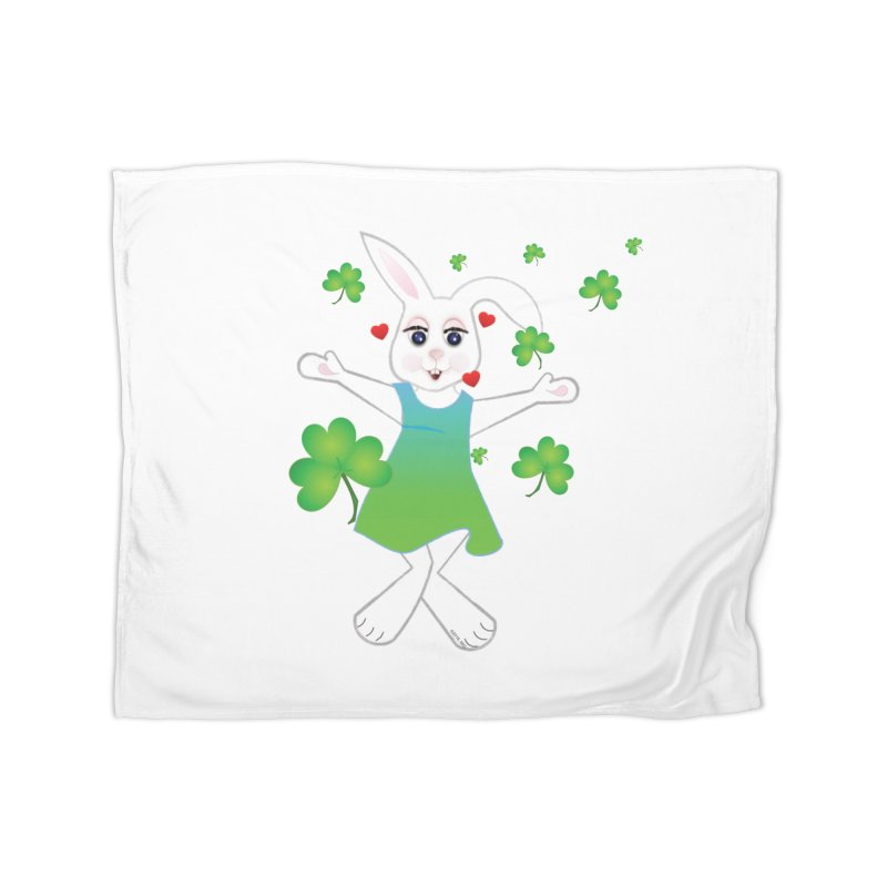 Irish You love Home Fleece Blanket Blanket by MyInspirationalGifts Artist Shop