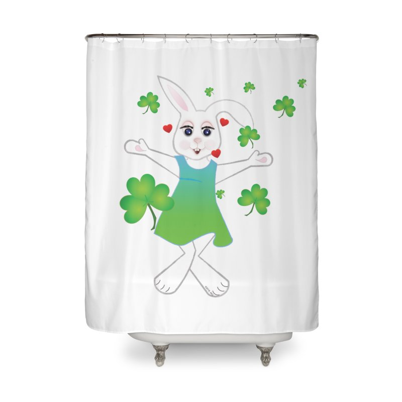 Irish You love Home Shower Curtain by MyInspirationalGifts Artist Shop