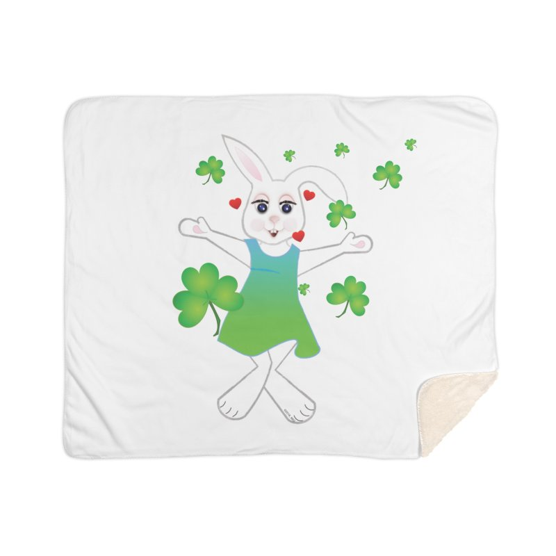 Irish You love Home Sherpa Blanket Blanket by MyInspirationalGifts Artist Shop