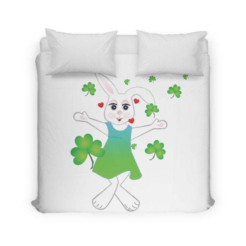 Irish You love Home Duvet by MyInspirationalGifts Artist Shop