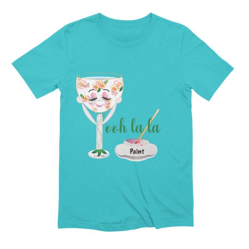 Ooh la la Men's Extra Soft T-Shirt by MyInspirationalGifts Artist Shop