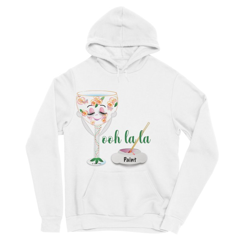 Ooh la la Women's Sponge Fleece Pullover Hoody by MyInspirationalGifts Artist Shop