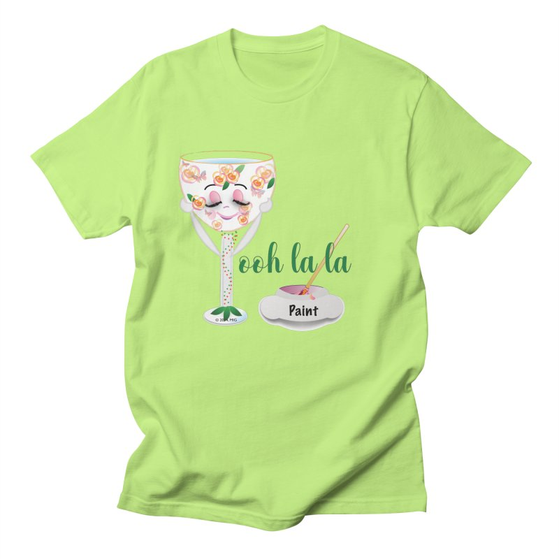 Ooh la la Women's Regular Unisex T-Shirt by MyInspirationalGifts Artist Shop