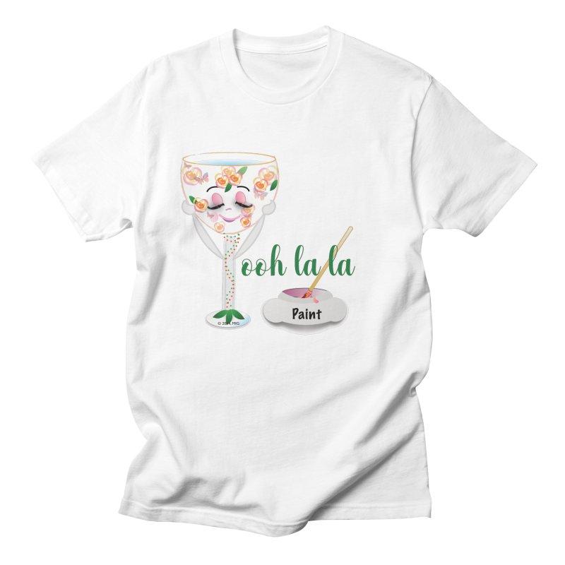 Ooh la la Men's Regular T-Shirt by MyInspirationalGifts Artist Shop