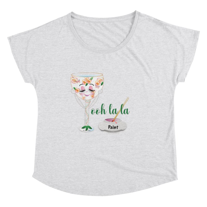 Ooh la la Women's Scoop Neck by MyInspirationalGifts Artist Shop
