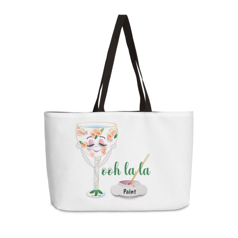 Ooh la la Accessories Weekender Bag Bag by MyInspirationalGifts Artist Shop
