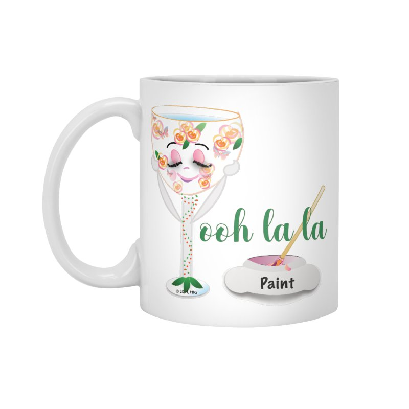 Ooh la la Accessories Standard Mug by MyInspirationalGifts Artist Shop