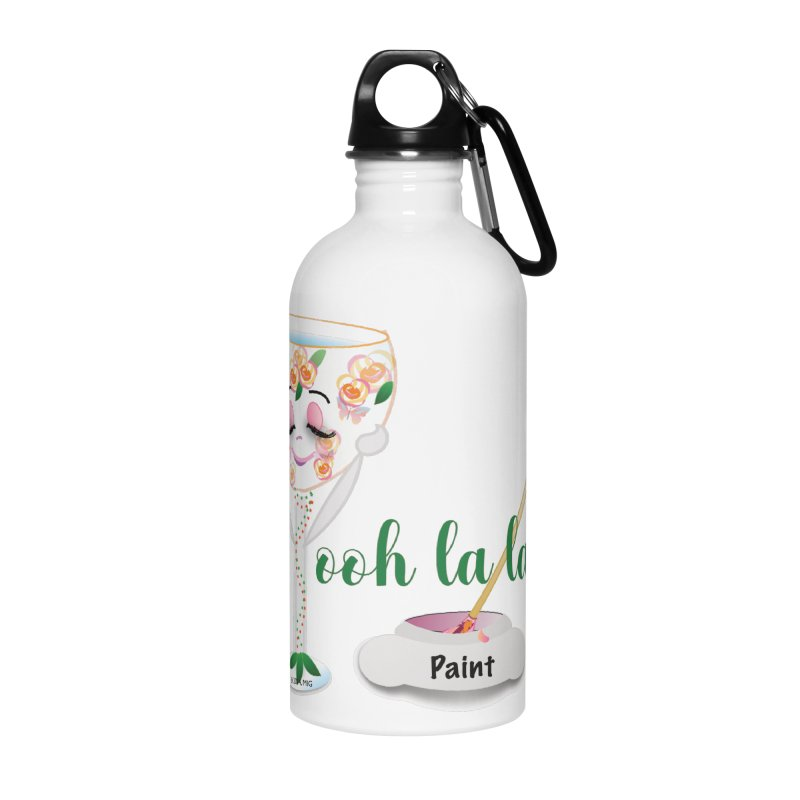 Ooh la la Accessories Water Bottle by MyInspirationalGifts Artist Shop