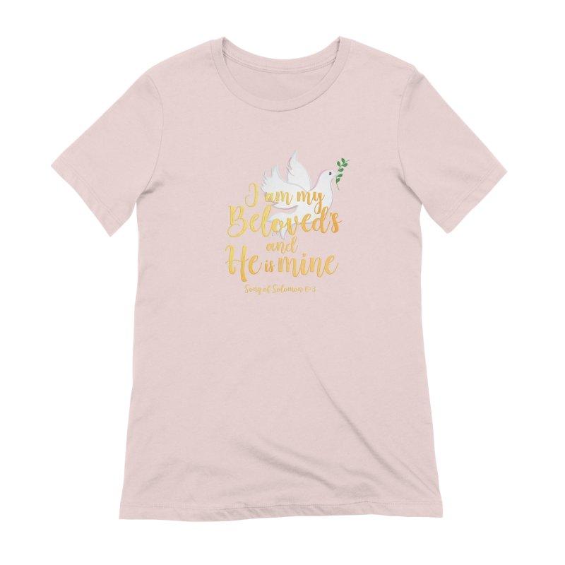 I Am My Beloved's Women's Extra Soft T-Shirt by MyInspirationalGifts Artist Shop
