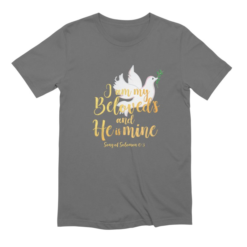 I Am My Beloved's Men's Extra Soft T-Shirt by MyInspirationalGifts Artist Shop