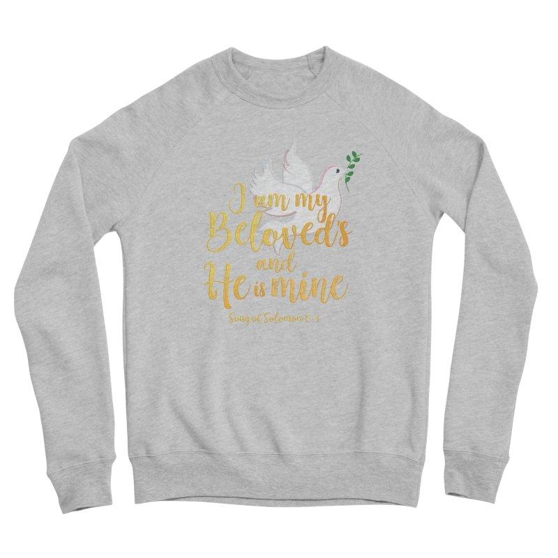 I Am My Beloved's Women's Sponge Fleece Sweatshirt by MyInspirationalGifts Artist Shop
