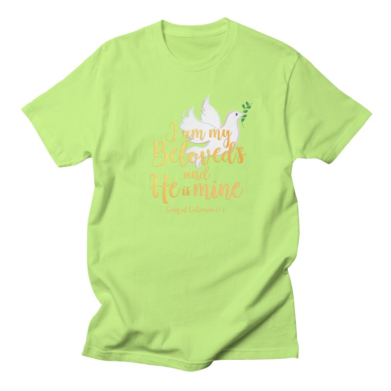 I Am My Beloved's Women's Regular Unisex T-Shirt by MyInspirationalGifts Artist Shop