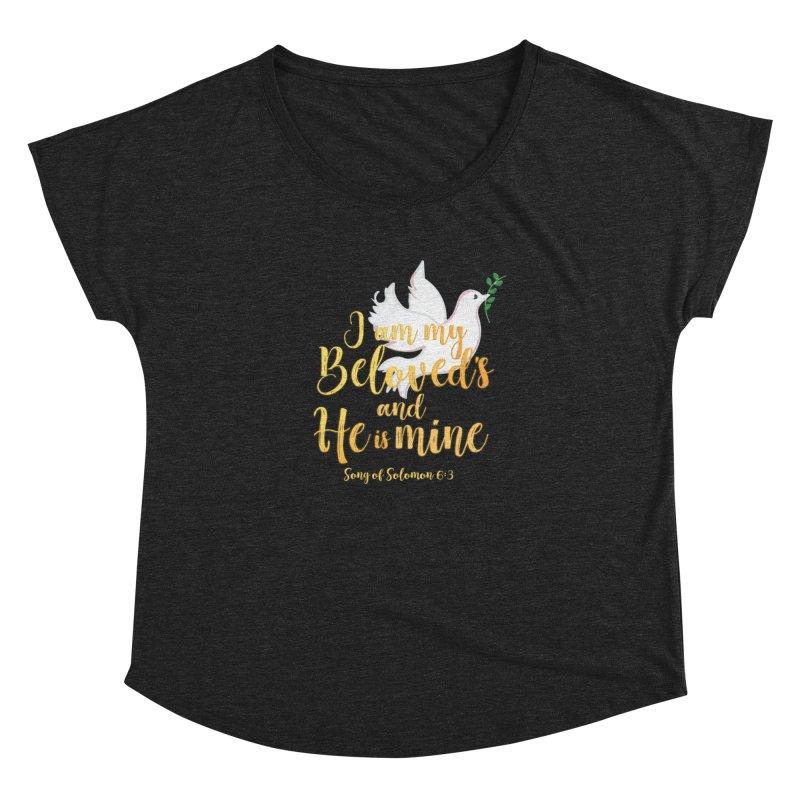 I Am My Beloved's Women's Dolman Scoop Neck by MyInspirationalGifts Artist Shop
