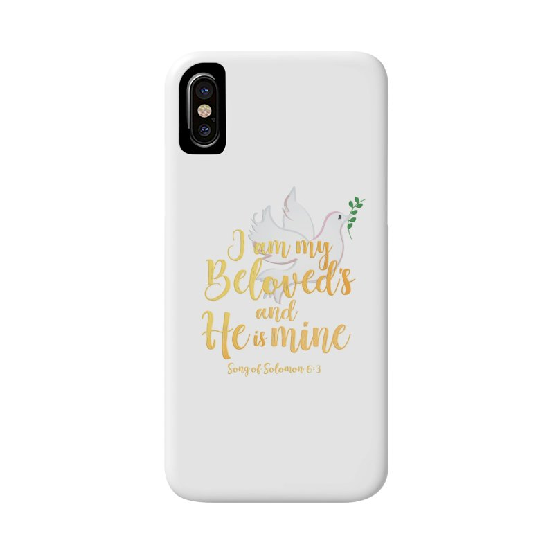 I Am My Beloved's Accessories Phone Case by MyInspirationalGifts Artist Shop