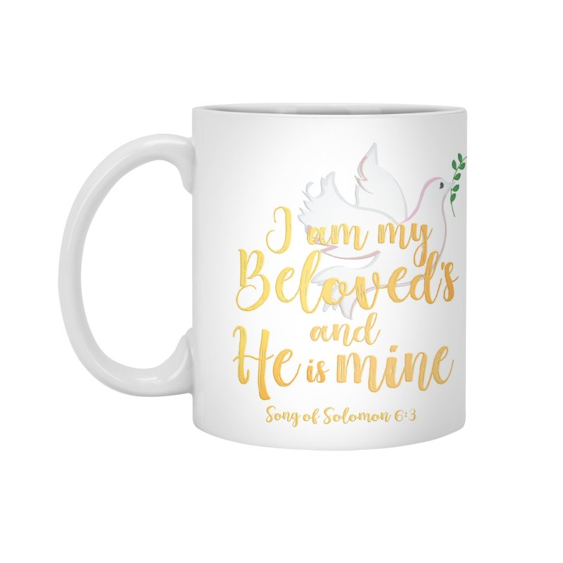 I Am My Beloved's Accessories Standard Mug by MyInspirationalGifts Artist Shop
