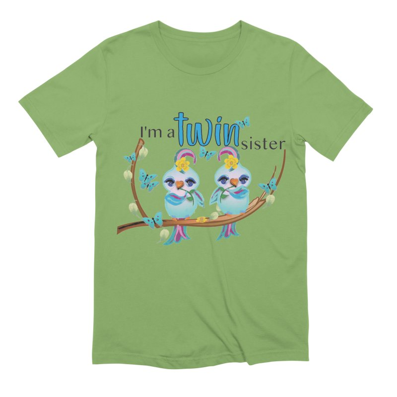 I'm a TWIN sister Men's Extra Soft T-Shirt by MyInspirationalGifts Artist Shop