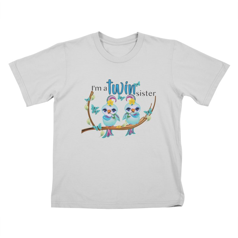 I'm a TWIN sister Kids T-Shirt by MyInspirationalGifts Artist Shop