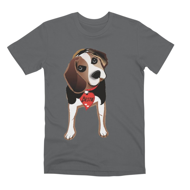 Beagle Bestie Men's Premium T-Shirt by MyInspirationalGifts Artist Shop