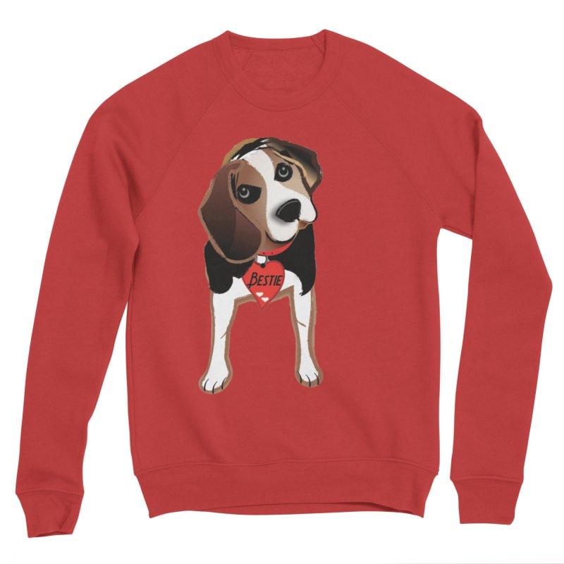Beagle Bestie Women's Sponge Fleece Sweatshirt by MyInspirationalGifts Artist Shop