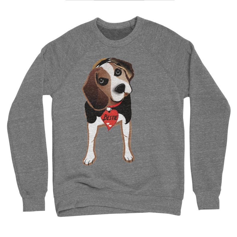 Beagle Bestie Men's Sponge Fleece Sweatshirt by MyInspirationalGifts Artist Shop