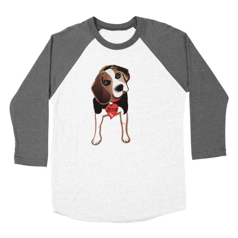 Beagle Bestie Women's Longsleeve T-Shirt by MyInspirationalGifts Artist Shop