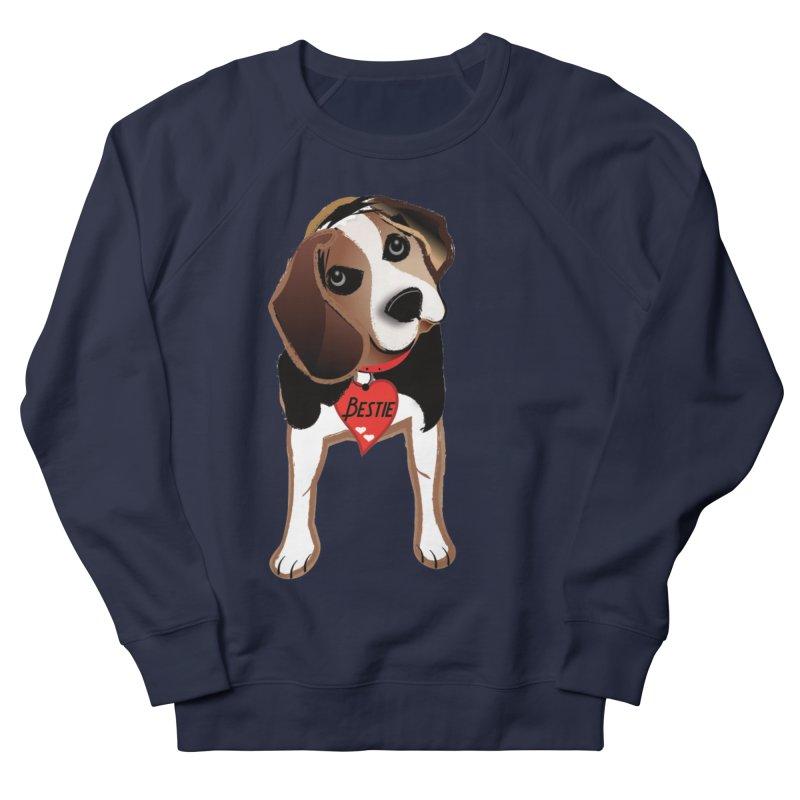Beagle Bestie Men's French Terry Sweatshirt by MyInspirationalGifts Artist Shop