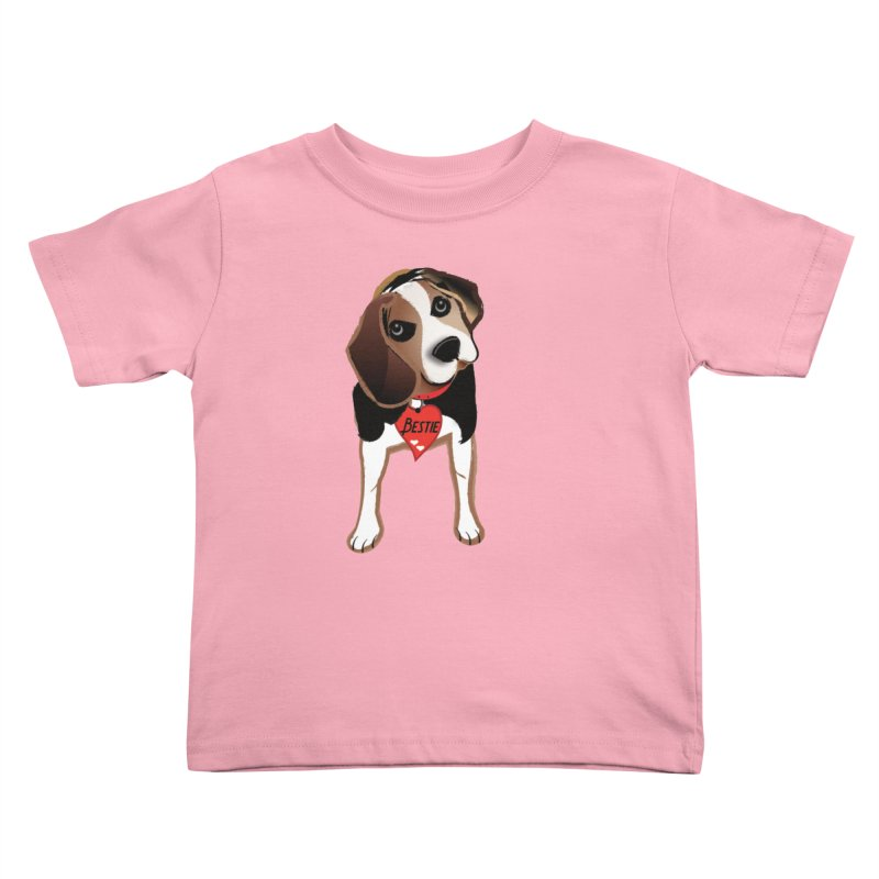 Beagle Bestie Kids Toddler T-Shirt by MyInspirationalGifts Artist Shop