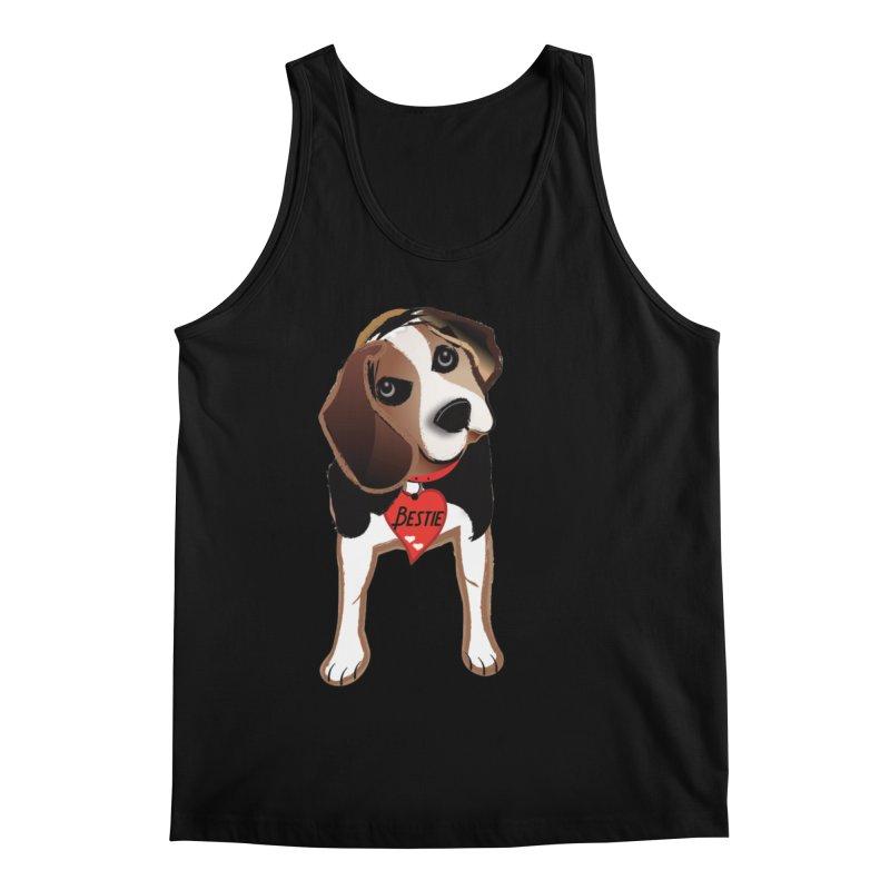 Beagle Bestie Men's Regular Tank by MyInspirationalGifts Artist Shop