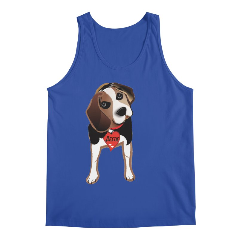 Beagle Bestie Men's Regular Tank by MyInspirationalGifts Artist Shop