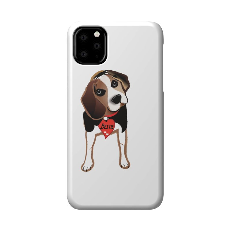 Beagle Bestie Accessories Phone Case by MyInspirationalGifts Artist Shop