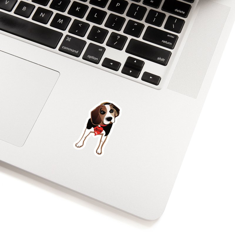 Beagle Bestie Accessories Sticker by MyInspirationalGifts Artist Shop