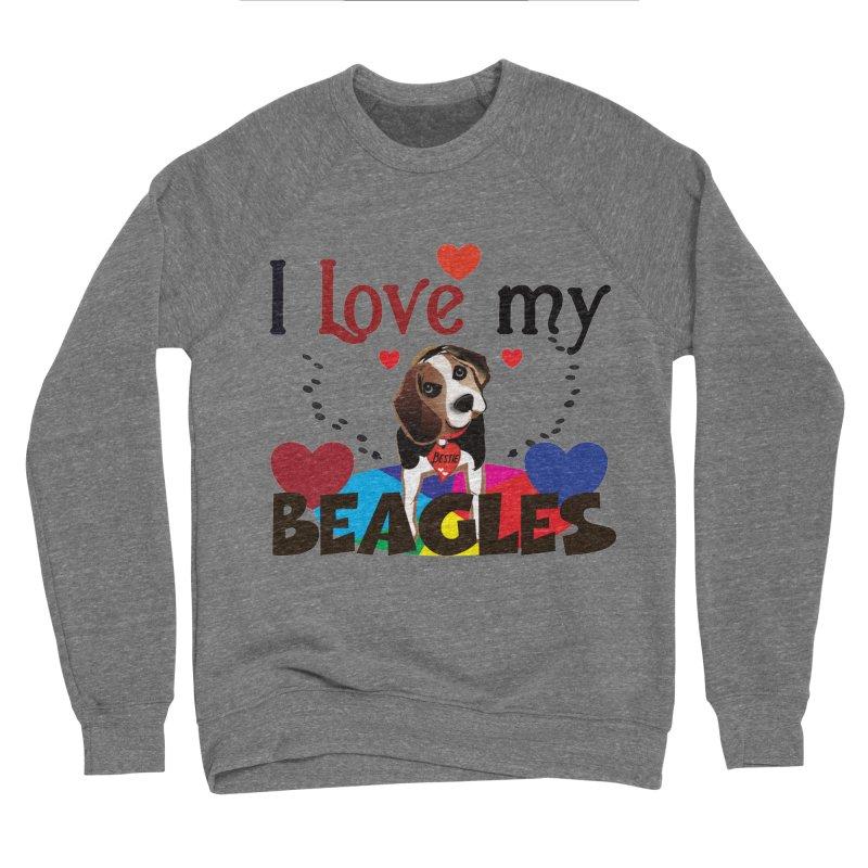I love my Beagles Women's Sponge Fleece Sweatshirt by MyInspirationalGifts Artist Shop