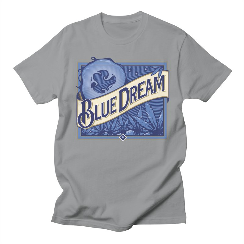 Blue Dream Men's Regular T-Shirt by MykoWu's Artist Shop