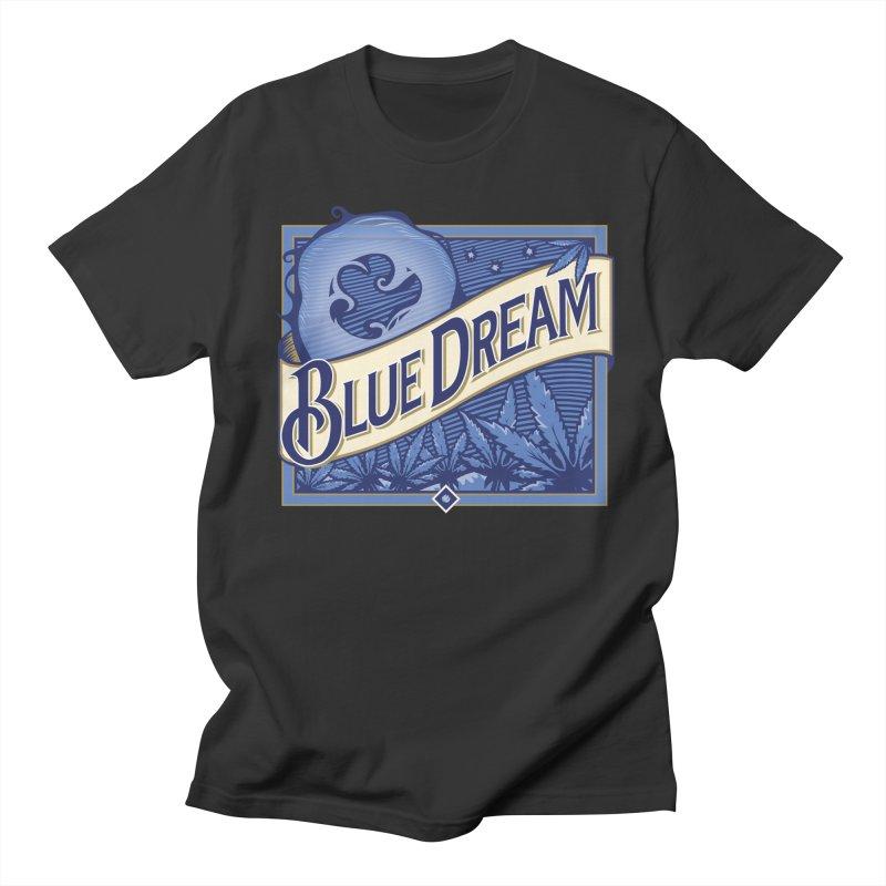 Blue Dream Men's T-shirt by MykoWu's Artist Shop