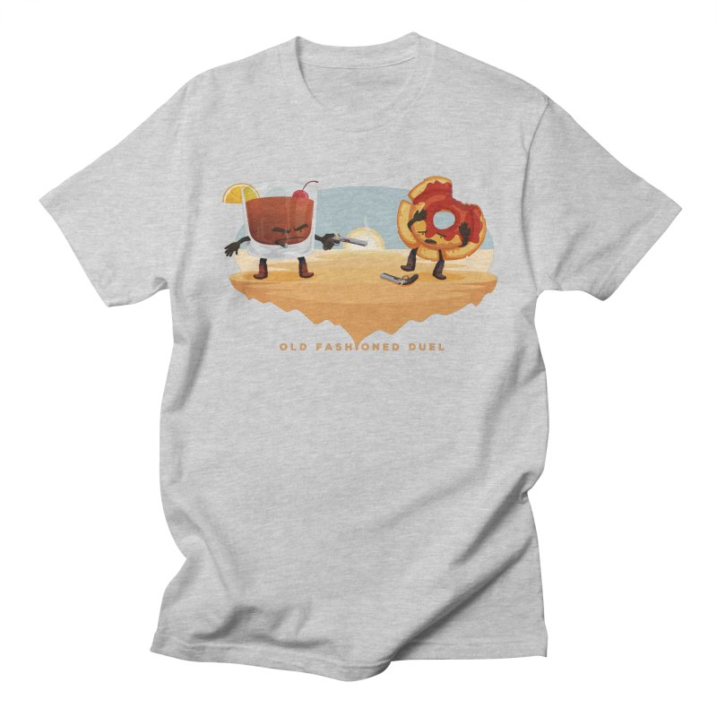 Old Fashioned Duel Men's T-shirt by MykoWu's Artist Shop